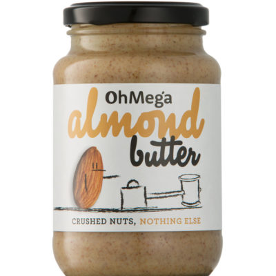 Oh Mega Almond Butter