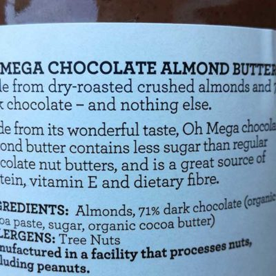 Oh-mega-chocolate-almond-butter-ingredient-list