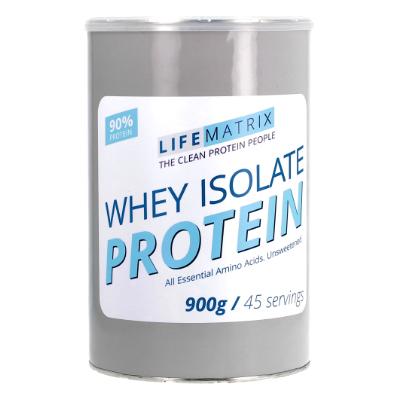 Lifematrix Whey Isolate Protein Powder (900 G)