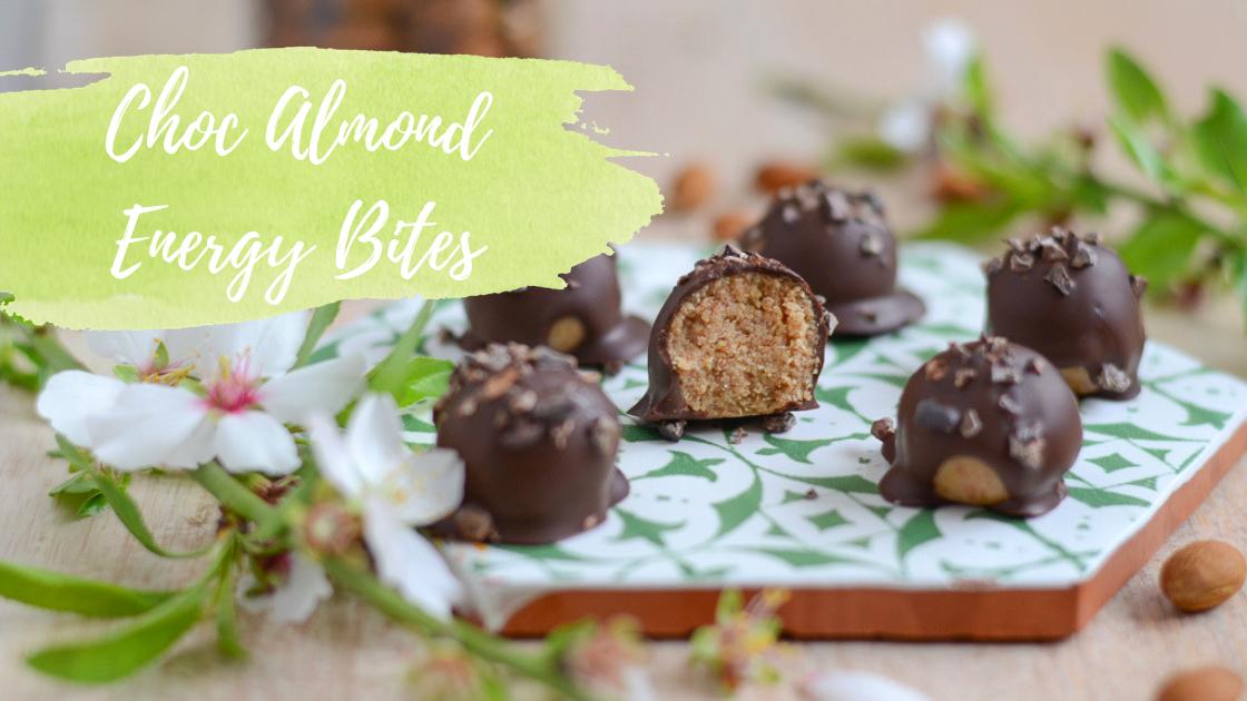 Healthy Sweet Treats – Choc Almond Energy Bites