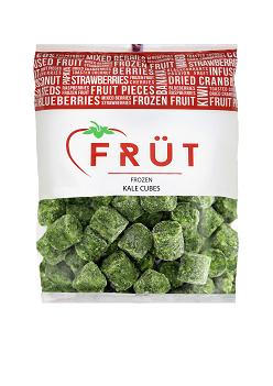 Kale Cubes, Frozen (1kg)